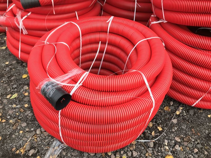труба гофрированная для кабеля
